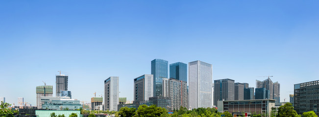 CBD building in Chengdu