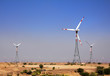 wind farm - turning windmills in India - 57619698
