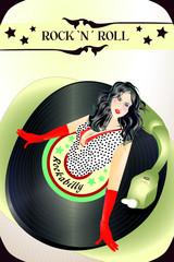50s-fifties-rock n roll-rockabilly-schallplatte