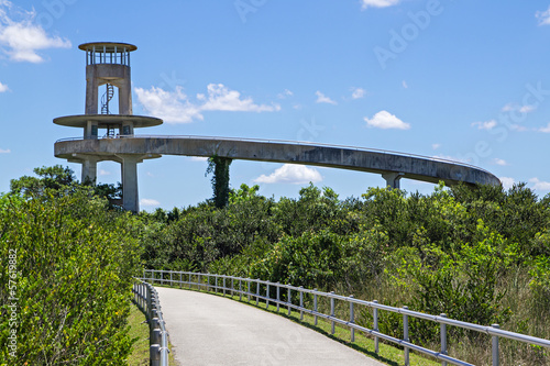 Florida Everglades Observation Tower