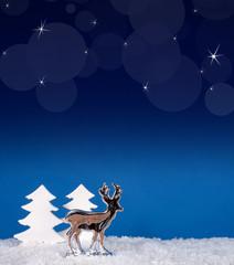 Weihnachtliche Nachtstimmung