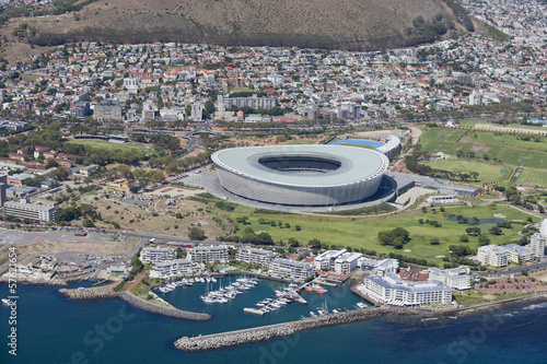 Aerial view of Cape Town Stadium