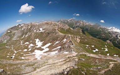 the view from the Edelweisspitze