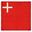 Grunge-Flagge Schwyz (Schweiz)