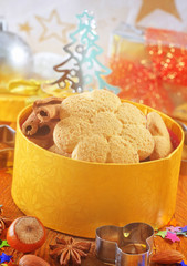Sweet cookies for chrisnmas