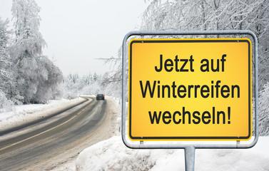 Jetzt auf Winterreifen wechseln !