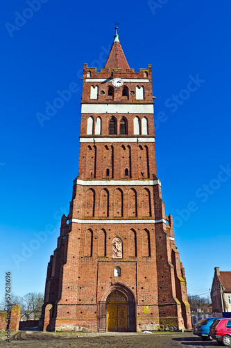 Church of St. George (Kirche Friedland). City Pravdinsk, Russia
