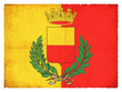 Grunge-Flagge Neapel (Italien)