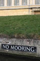 No Mooring