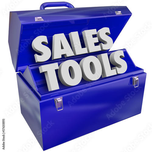 Sales Tools Words Toolbox Selling Technique Scheme