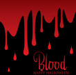 Blood card in vector format.