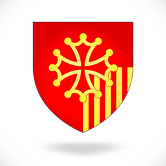 France - Languedoc-Roussillon (blason)