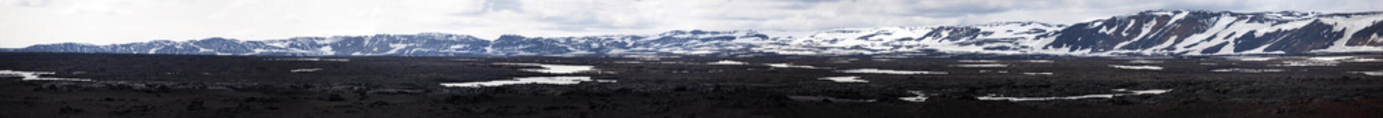 Askja Caldera vulcanica