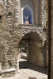 arched stone passage at Labro, Rieti