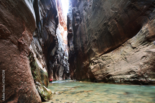 Tuinposter Canyon Canyon in Zion