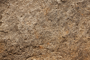 Surface of the stone gray-brown