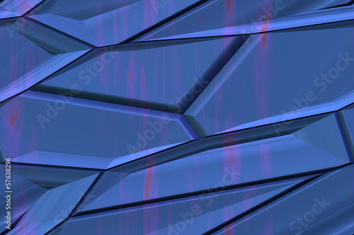 Abstract textured background - fancy polyhedrons 2.