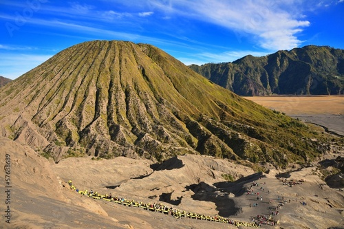 Mount Batok as seen from Bromo