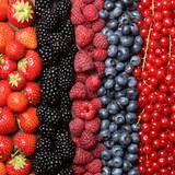 Frische Beeren Früchte Hintergrund - 57638863