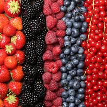 Świeże owoce jagodowe tła