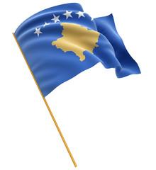 3D Kosovo flag