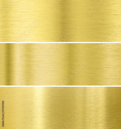 Gold metal texture background collection
