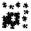 Puzzle - Black Megaset