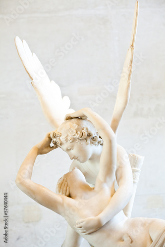Psyche revived by Cupid kiss