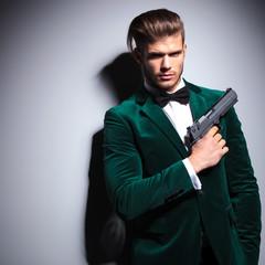 James Bond wannabe young assasin