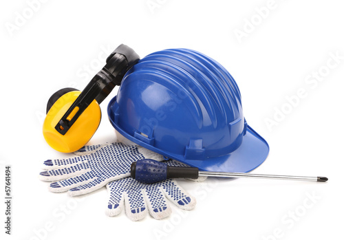 Various equipment for worker.