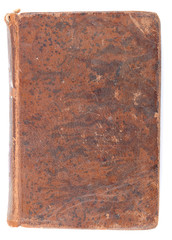 Old book leather cover