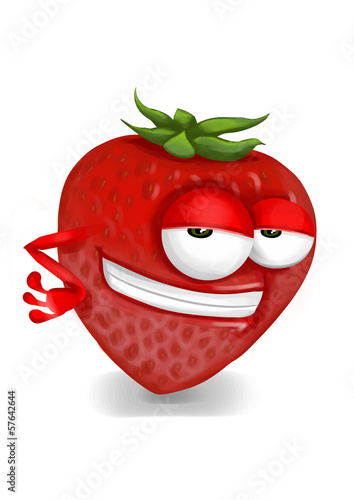 Cool strawberry