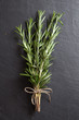 Fresh rosemary in a Bunch