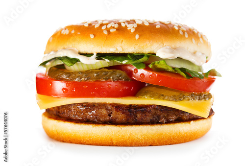 hamburger - 57644076