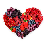 Fototapety With love to berries.