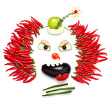 Fototapety Chilli clown.