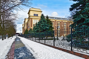 Building of the Kaliningrad regional court. Kaliningrad