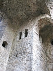 Ruin of the saint Nicolas church in Visby on Gotland