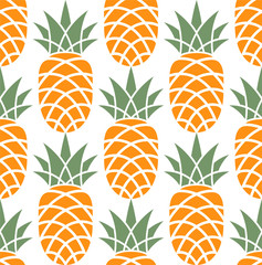 Pineapple. Pattern