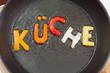 Küche Gemüsepfane