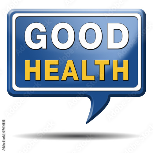 good health sign