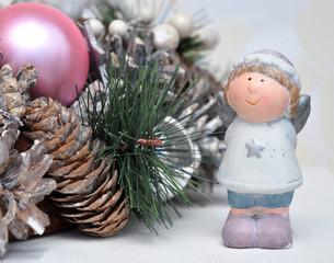 Engelchen und Weihnachtsdeko