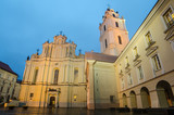 Sts. Johns' Church in Vilnius after rain