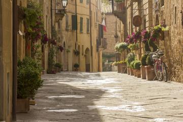 Tuscany old street
