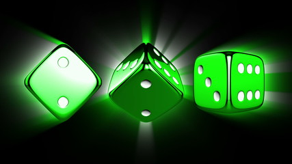 Casino Dices Spinning with Alpha