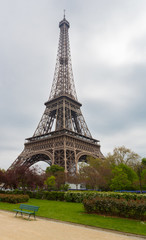 Eiffel Tower with Path