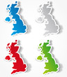 roleta: Map of United Kingdom