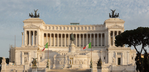 Italian Parliament Straight On