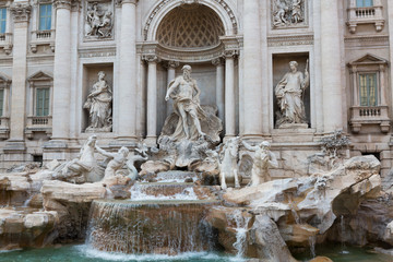 Trevi Fountain Closeup