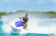 Man on Jet Ski - 57651494